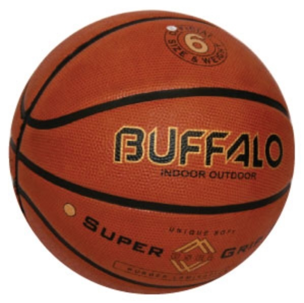 Buffalo Supergrip Brown Basketball (Size 6)