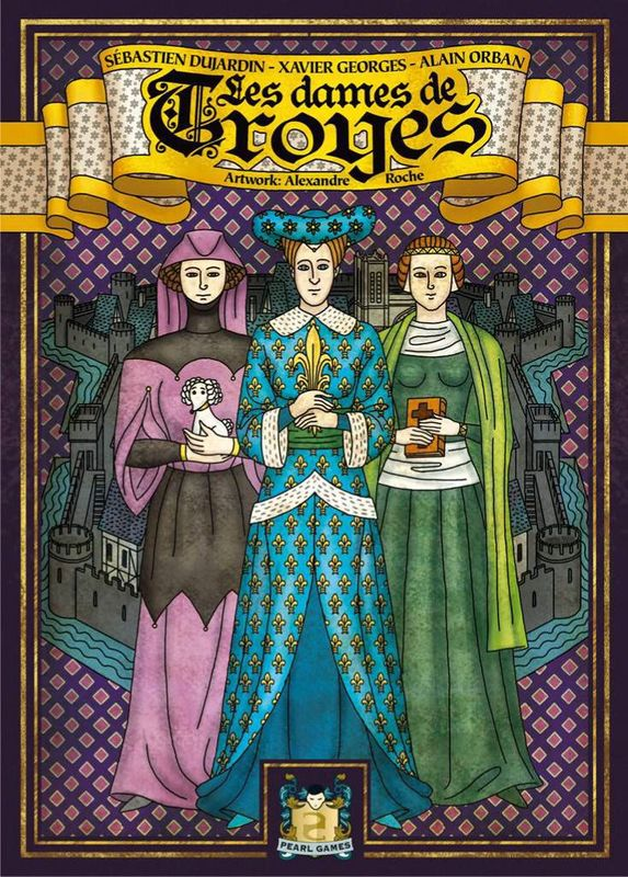Troyes: The Ladies of Troyes - Expansion
