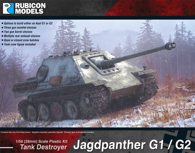 Rubicon 1/56 Japdpanther (G1 & G2)
