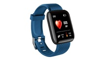 Smart Sports Activity Tracker with Heart Rate Monitor - Blue