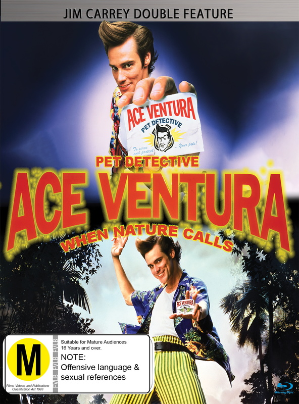 Ace Ventura: Pet Detective/When Nature Calls - 25th Anniversary Edition on Blu-ray