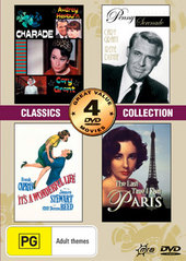 Classics Collection (Charade/It's A Wonderful Life/Last Time I Saw Paris/Penny Serenade) (2 Disc) on DVD