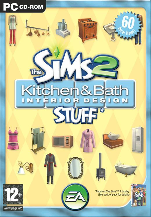The Sims 2: Kitchen & Bath Interior Design Stuff for PC Games