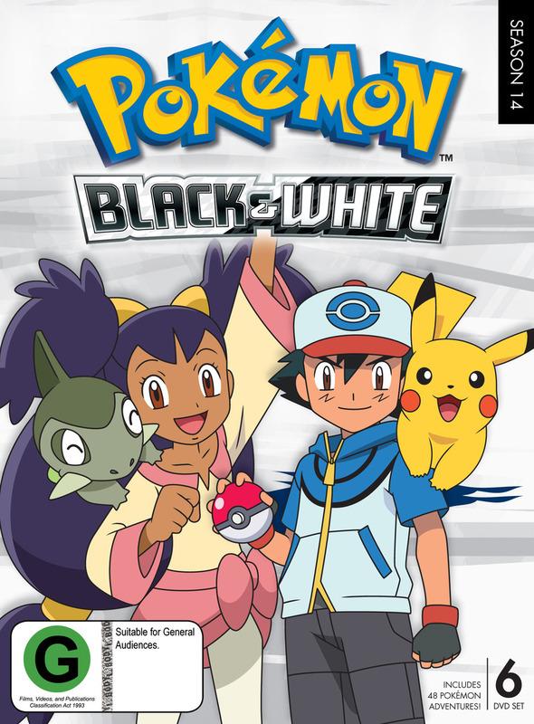 Pokemon Season 14: Black & White on DVD