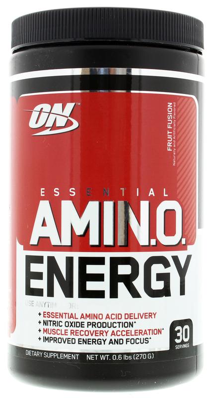 Optimum Nutrition Amino Energy Drink - Fruit Fusion (30 Serves)