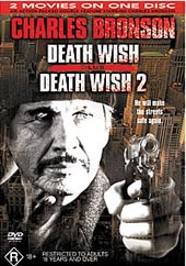 Death Wish I And II on DVD