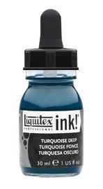 Liquitex: Acrylic Ink - Turquoise Deep (30ml)