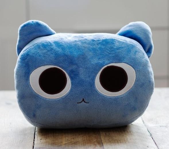 Cat Nap Cushion - Blue image