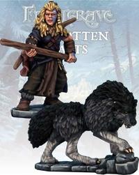Frostgrave Barbarian Tracker & War Hound