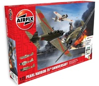 Airfix Pearl Harbour 75th Anniversary Gift Set 1:72 Model Set