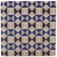 Maxwell & Williams Medina Ceramic Square Tile Coaster - Nador (9cm)
