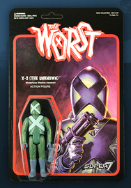 The Worst: Graveyard Shift - X-2 (The Unknown) Retro Action Figure