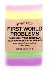 Whiskey River Co: Soap - For First World Problems