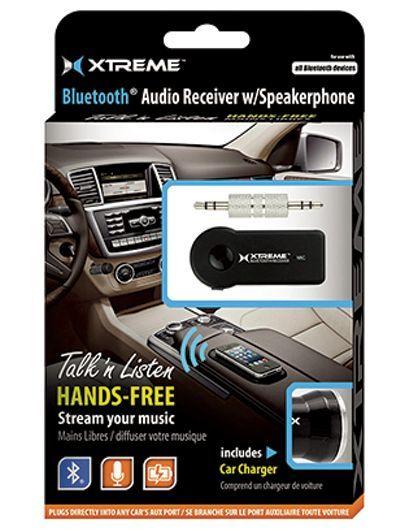 Xtreme: Wireless Audio Receiver With Speakerphone