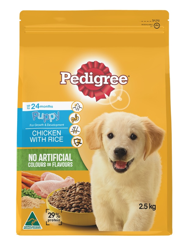 Pedigree Puppy With Chicken and Rice (2.5kg)