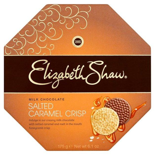 Elizabeth Shaw Salted Caramel Crisp Chocolate 175g
