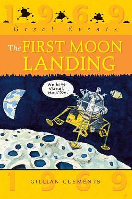 The First Moon Landing by Gillian Clements image