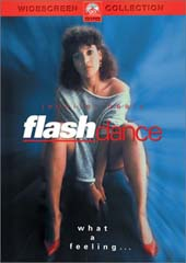 Flashdance on DVD