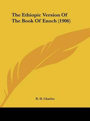 The Ethiopic Version of the Book of Enoch (1906) image