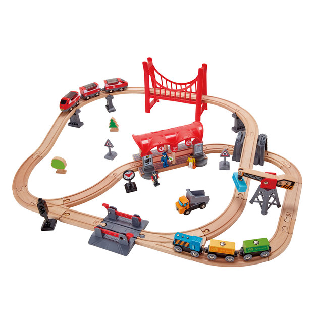 Hape: Busy City Rail Set