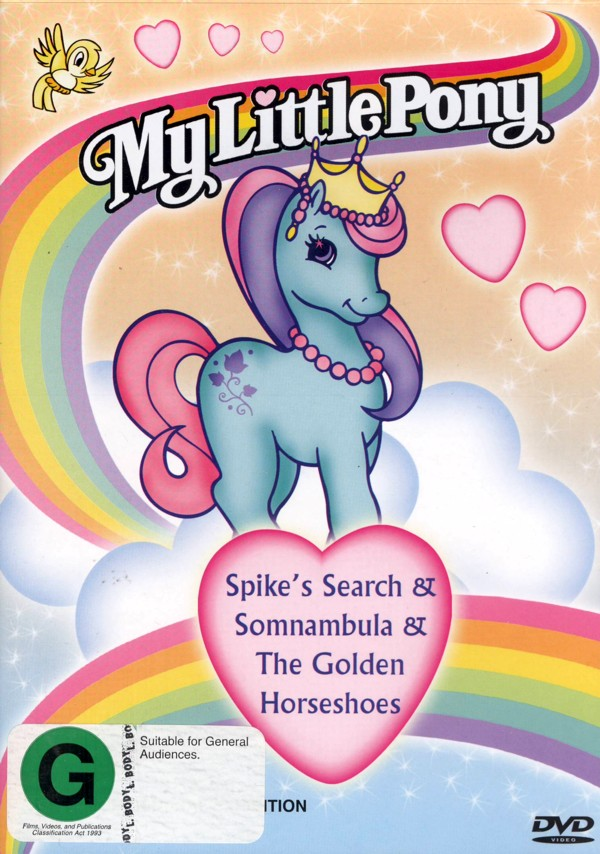 My Little Pony - Spike's Search/Somnambula/The Quest For The Golden Horseshoes on DVD image