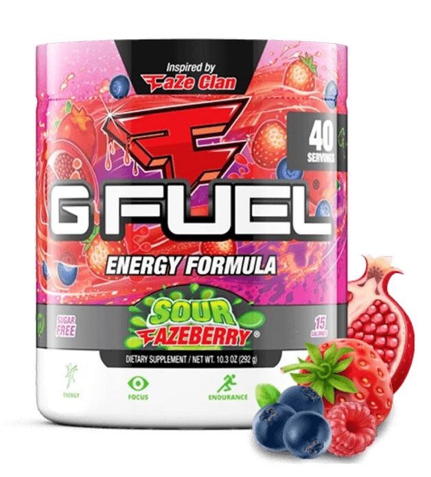 G FUEL Energy Formula - Sour FaZeberry (40 Servings)