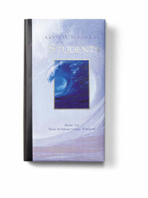 God's Words of Life for Students by Zondervan Publishing image