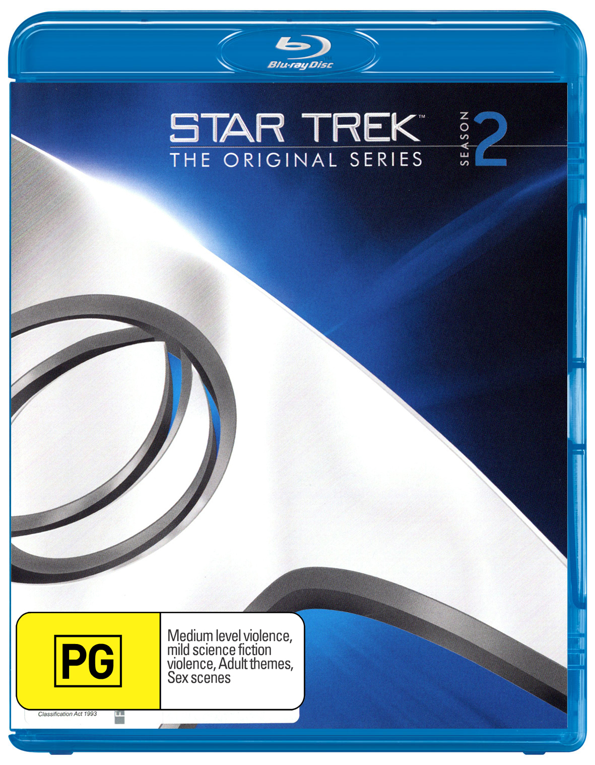 Star Trek The Original Series - The Complete Second Season Remastered on Blu-ray image