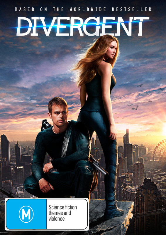 Divergent on DVD