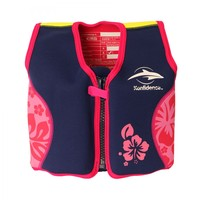 Konfidence Original Buoyancy Jacket - Navy/Pink (4-5 Years)
