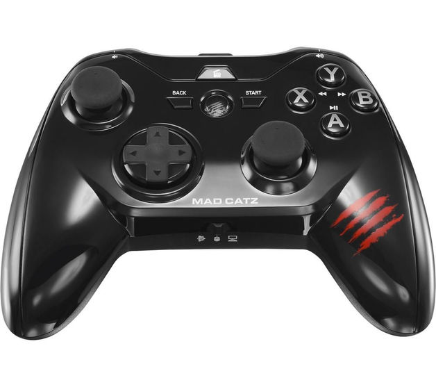 Mad Catz Micro C.T.R.L.R Gamepad for Android - (Glossy Black) for