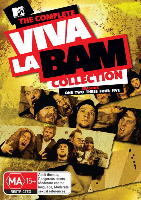 Viva La Bam Collection, The (8 Disc Box Set) on DVD image