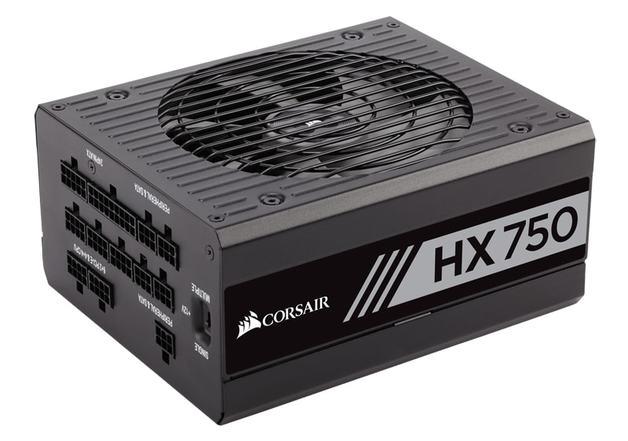 750W Corsair HX750 80 Plus Platinum High Performance Power Supply