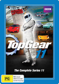 Top Gear - The Complete Series 11 (Steelbook - 2 Disc Set) on DVD image