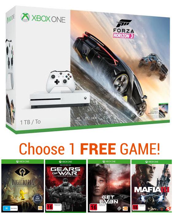 Xbox One S 1TB Forza Horizon 3 Console Bundle for Xbox One