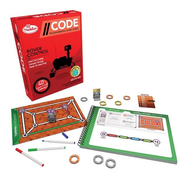 ThinkFun: CODE - Rover Control Game