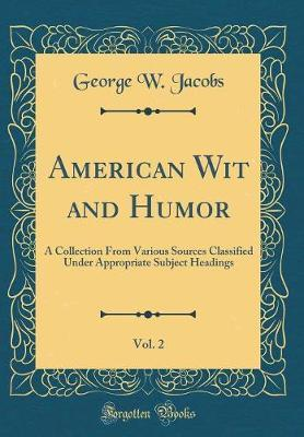 American Wit and Humor, Vol. 2 by George W. Jacobs image