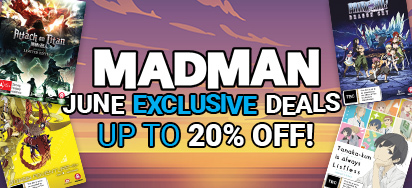 Madman Exclusive June Specials