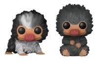 Fantastic Beasts 2 - Baby Nifflers (Black & Grey) Pop! Vinyl 2-Pack