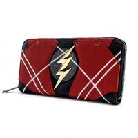 Loungefly: Flash - Zip-Around Wallet