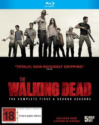 The Walking Dead - The Complete 1st and 2nd Seasons on Blu-ray