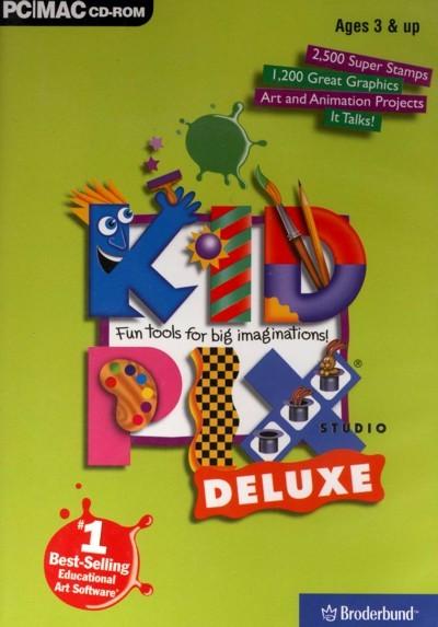 Kid Pix Studio Deluxe for PC Games