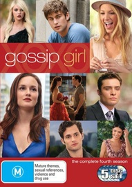 Gossip Girl - The Complete 4th Season on DVD