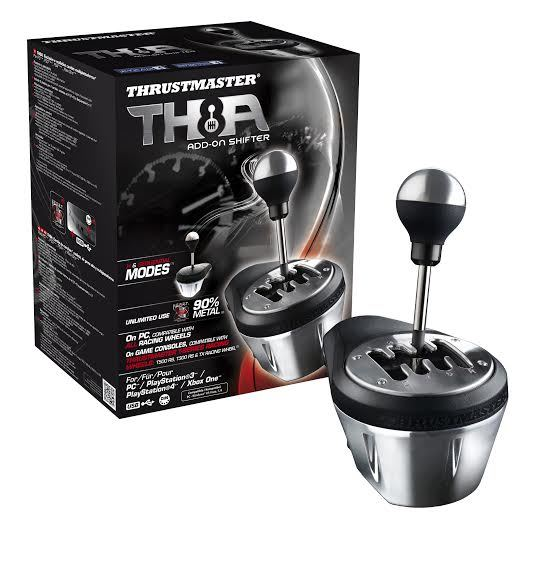 Thrustmaster TH8A Shifter (PS4,PS3, PC & Xbox One) for PS4 image