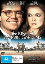The King Of Marvin Gardens on DVD