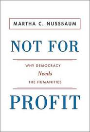 Not For Profit by Martha C. Nussbaum image