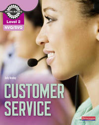NVQ/SVQ Level 2 Customer Service Candidate Handbook by Sally Bradley