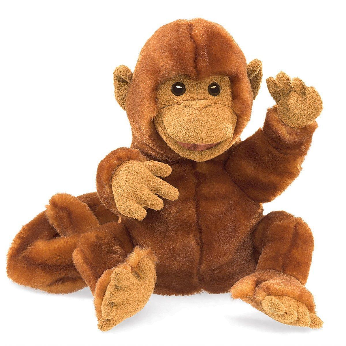 Folkmanis Hand Puppet - Classic Monkey image