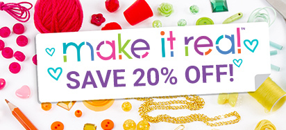 20% off Make It Real!