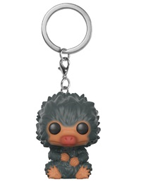 Fantastic Beasts 2 - Baby Niffler (Grey) Pocket Pop! Keychain